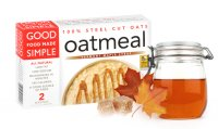 Good Food Made Simple Vermont Maple Syrup Oatmeal 2CT 16oz Box