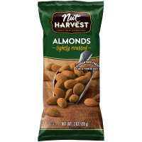 Nut Harvest Lightly Roasted Salted Almonds 3oz Bag