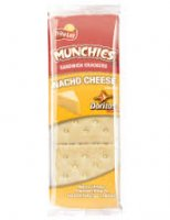 Munchies Nacho Cheese on Toast Sandwich Crackers 1.38oz PKG