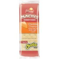 Munchies Cheddar Cheese on Toast Sandwich Crackers 1.38oz PKG
