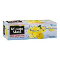 Minute Maid Pink Lemonade 12PK of 12oz Cans