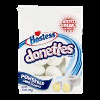Hostess Donettes Powdered Sugar Mini Donuts 11.5oz Bag product image