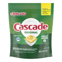 Cascade 2-in-1 ActionPacs Auto Dish Detergent with Dawn Lemon Scent  20CT