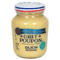 Grey Poupon Dijon Mustard Made with White Wine 8oz Jar
