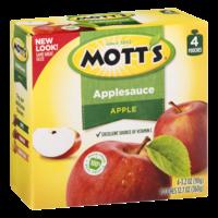 Mott's Original Applesauce 3.2 oz Pouches 4 Count PKG