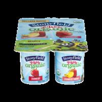 Stonyfield YoKids Strawberry & Strawberry Banana 4oz EA 6PK