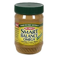 Smart Balance Omega Natural Peanut Butter Creamy 16oz Jar