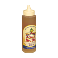 Madhava Light 100% Pure Blue Agave Nectar Sweetener 11.75oz Bottle