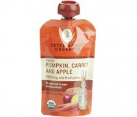 Peter Rabbit Organics Pumpkin, Carrot & Apple 100% Veg & Fruit Puree 4.4oz Pouch