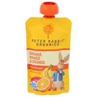 Peter Rabbit Organics Mango, Banana & Orange Fruit Snack 4oz Pouch