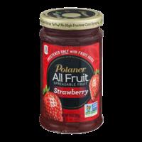 Polaner All Fruit Spreadable Fruit Strawberry 10oz Jar