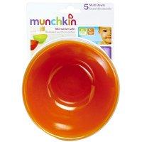 Munchkin Multi Colored 12oz Bowls 5PK