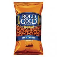 Rold Gold Tiny Twist Pretzels Cheddar Cheese 10oz Bag
