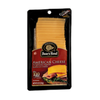 Boar's Head Pre Sliced Yellow American Cheese 8oz