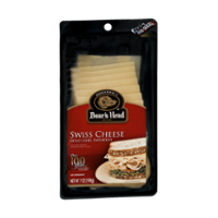 Boar's Head Pre Sliced Swiss Cheese 7oz