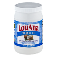 LouAna Pure Coconut Oil 14oz Jar