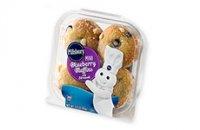 Pillsbury Mini Blueberry Muffins 4PK  3oz