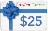 Gift Certificate $25 | Garden Grocer