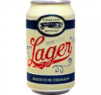 Cigar City Brewing Lager Beer 6CT 12oz Cans *ID Required* product image