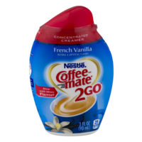 Coffee-mate 2Go French Vanilla Triple Strength Coffee Creamer 3oz BTL product image
