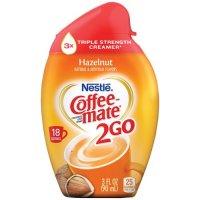 Coffee-mate 2Go Hazelnut Triple Strength Coffee Creamer 3oz BTL