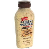 Grey Poupon Mild and Creamy Dijon 12oz Squeeze BTL
