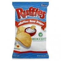 Ruffles Original Potato Chips Reduced Fat 8.5oz Bag