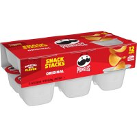 Pringles Snack Stacks Original Potato Crisps .74oz EA 12CT 8.88oz PKG
