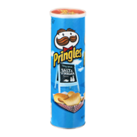 Pringles Potato Crisps Salt & Vinegar 5.5oz Can