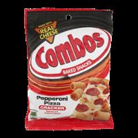 Combos Baked Snacks Pepperoni Pizza Cracker 6.3oz Bag product image