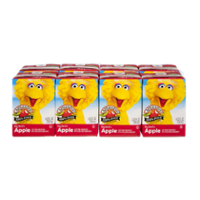 Apple & Eve Big Bird's No Sugar Added 100% Apple Juice 8PK of 4.23oz Boxes product image