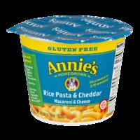 Annie's Homegrown Rice Pasta & Cheddar Mac & Cheese 2.01oz Cup