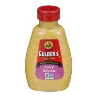Guldens Spicy Brown Mustard 8oz squeeze bottle