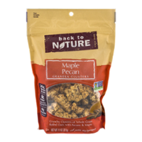 Back to Nature Granola Clusters Maple Pecan 11oz PKG