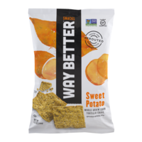 Simply Sprouted Way Better Snacks Simply Sweet Potato Tortilla Chips 6.6oz Bag product image