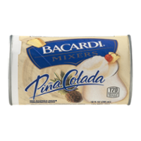 Bacardi Mixers Pina Colada Tropical 10oz Can