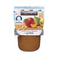 Gerber 3rd Foods Orchard Fruit Medley Lil Bits 10oz 2PK product image