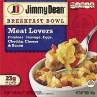 Jimmy Dean Breakfast Bowls Meat Lovers 7oz PKG product image