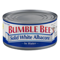 Bumble Bee Tuna Solid Albacore in Water 12oz Can