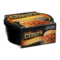 Curly's Pulled Chicken with Hickory Smoked Barbecue Sauce 16oz Tub