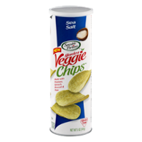 Sensible Portions Garden Veggie Chips Sea Salt 5oz Can