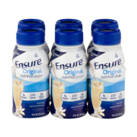 Ensure Original Nutrition Shake Vanilla 8oz EA 6PK