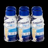 Ensure Original Nutrition Shake Vanilla 8oz EA 6PK