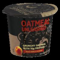 Kodiak Cakes Crunchy Oatmeal Peach Vanilla Almond 2.3oz Cup product image