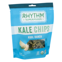 Rhythm Superfoods Kale Chips Kool Ranch 2oz Bag product image