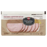 Hormel Natural Choice Uncured Canadian Bacon 6oz PKG product image