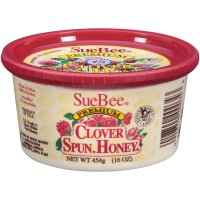 Sue Bee Premium Clover Spun Honey 16oz Tub product image