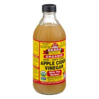 Bragg Organic Apple Cider Vinegar Raw Unfiltered 16oz BTL product image
