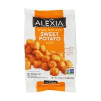 Alexia Foods Crispy Bite-Size Sweet Potato Puffs 20oz Bag product image