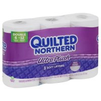 Quilted Northern Bath Tissue Ultra Plush Double Roll 2-Ply 6CT product image